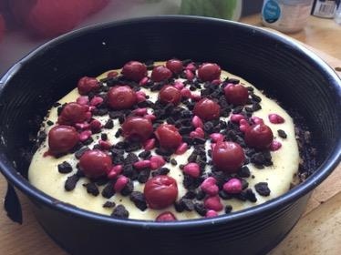 Statt Snickers – veganer Amaranth-Oreo-Pudding-Kuchen