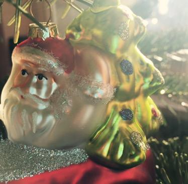Weihnachtsgeschenk vom kleinen Mann
