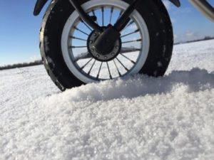 Workout im Schnee