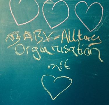 Zeitsparen im Baby-Alltag: 3 x 3 Organisations-Tipps