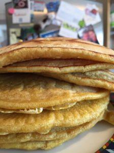 Veganer Pfannkuchen-Traum für Realisten