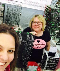 Kuchenerbse auf der Creativa: Interview mit Rita Bruckdorfer von ausgestochen-gut