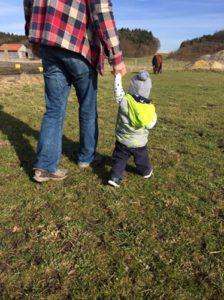 Pferdeliebe und Kinderlachen – unser Wochenende