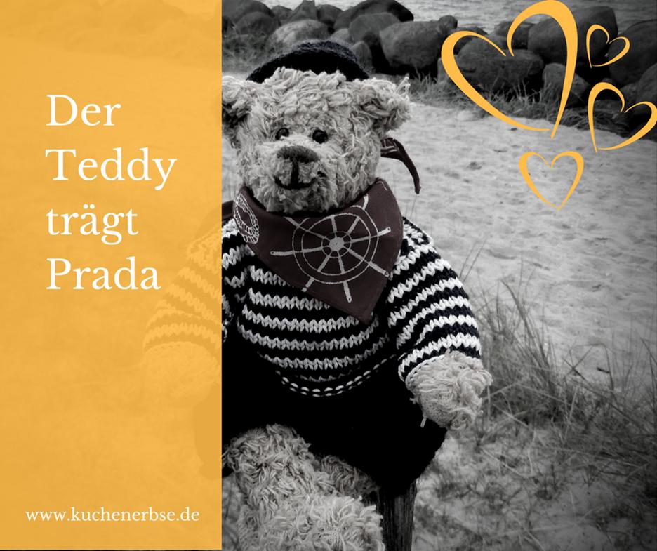 Der Teddy trägt Prada