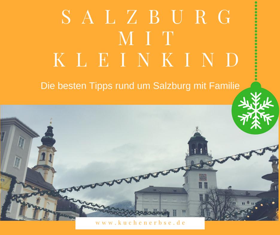 Reisen: Salzburg mit Kleinkind