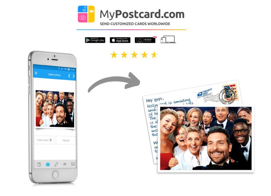 MyPostcard Urlaub Postkarte
