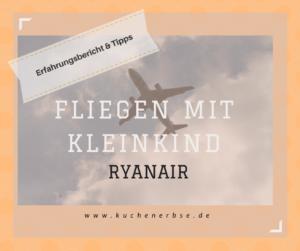 Fliegen mit Kleinkind: Ryanair