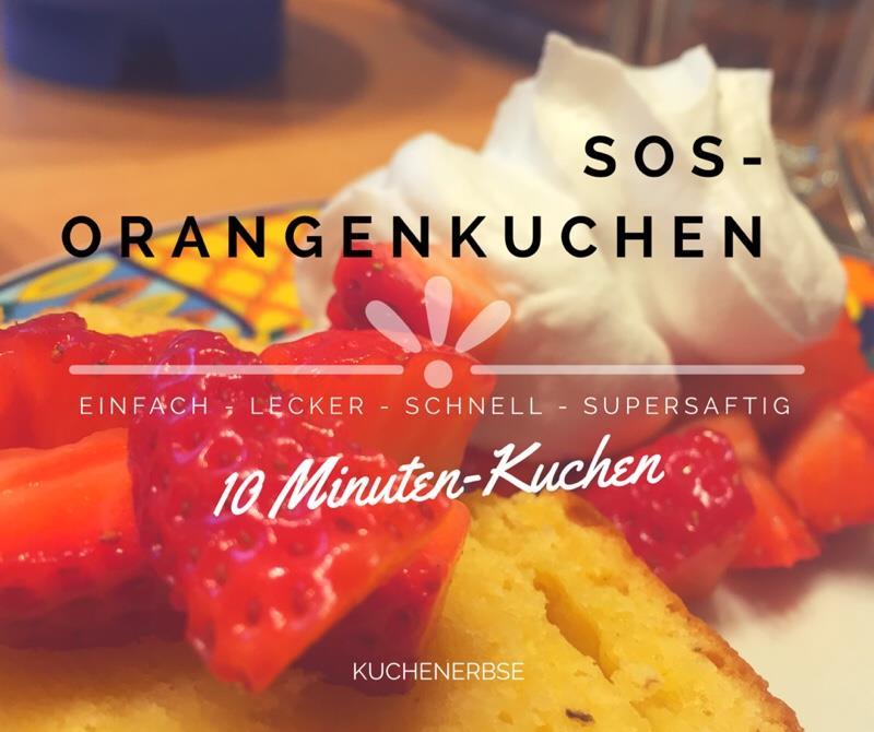 SOS Orangenkuchen