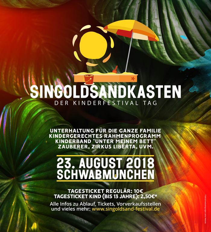 Festival für Kinder – Singoldsandkasten in Schwabmünchen [Werbung & Gewinnspiel]