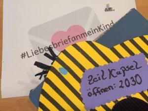Lass uns eine Zeitkapsel bauen – Liebesbrief an mein Kind