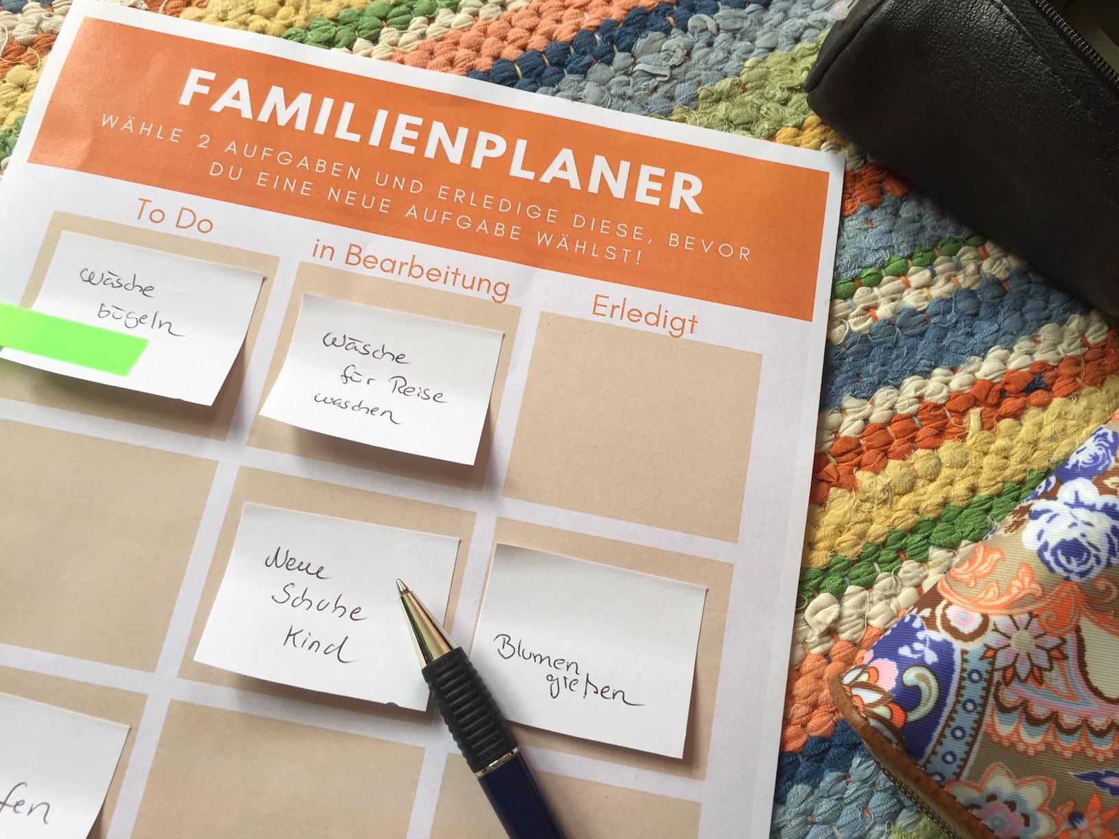 Familie einfach organisieren – mit Freebie [Werbung]